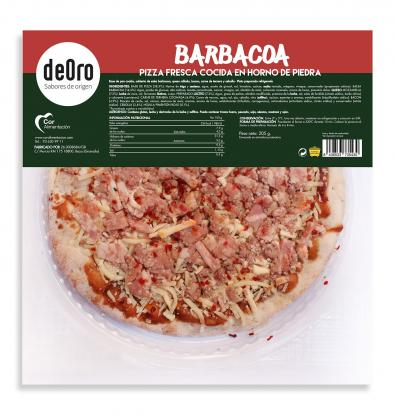 MINI PIZZA DEORO BARBACOA 205 G