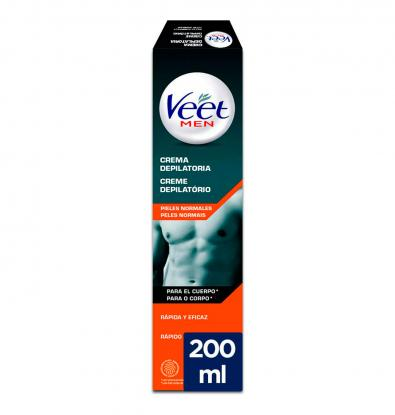 VEET FOR MEN CREMA DEPILATÒRIA PELL NORMAL 200 ML