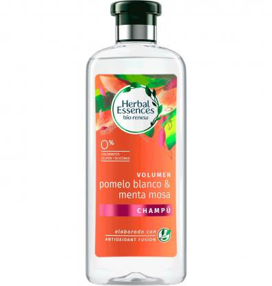 CHAMPÚ BIO HERBAL ESSENCES VOLUMEN POMELO BLANCO&MENTA MOSA 400 G