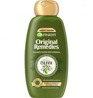 CHAMPÚ ORIGINAL REMEDIES OLIVA MÍTICA 300 ML