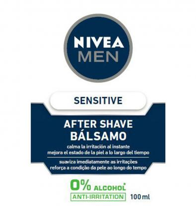 AFTER SHAVE NIVEA SENSITIVE 100 ML