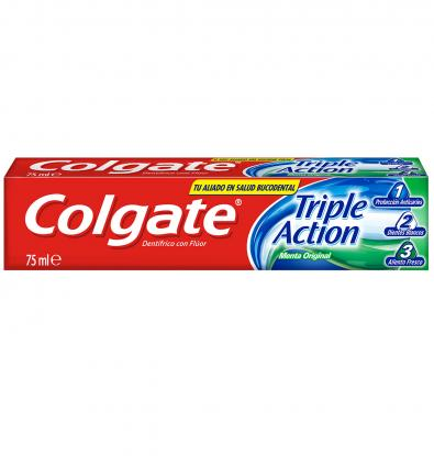 DENTIFRICI COLGATE TRIPLE ACCIÓ 75 ML