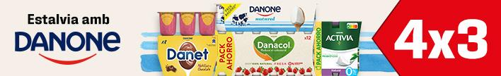 Danone natural i sabors, pack de 4 u. a 1 euro
