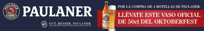 Cervesa Paulaner amb un got de regal